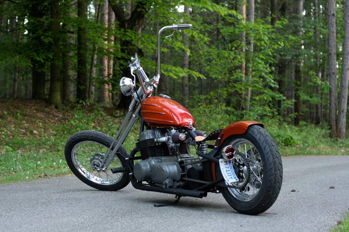 De3 Customs Honda CB750 SOHC 3